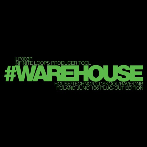 #WAREHOUSE Roland Juno 106 Plug-Out Edition (Presets Demo) House/Acid/Techno/Oldskool/Rave