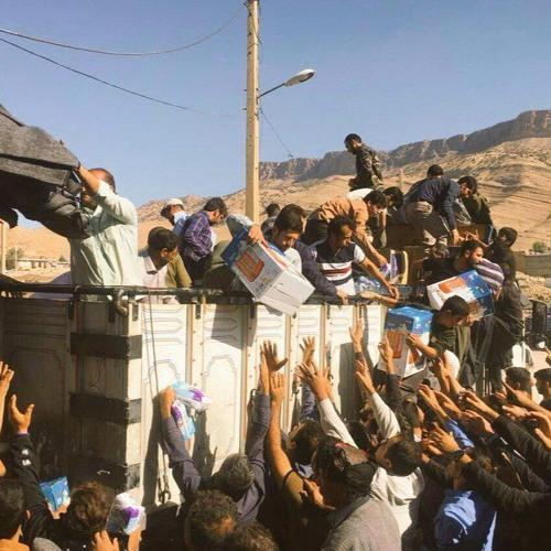 آخرین وضعیت مناطق زلزله زده