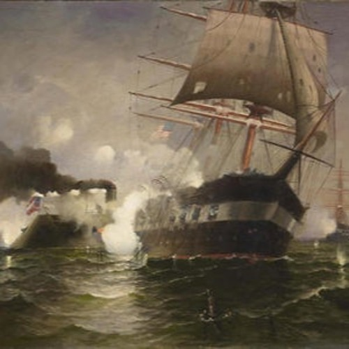 The Sinking of the Cumberland by the Merrimac