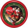 Coke Santa Claus Musical Wall Clock
