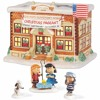 PEANUTS Musical Christmas Pageant Village