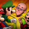 Mario and Luigi vs Motu Patlu. TV Rap Battles #4.