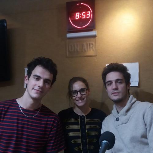 Itw de Stéphanie Teyssandier et du groupe MAB à IDFM.