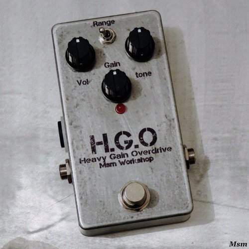 H.G.O Heavy Gain Overdrive