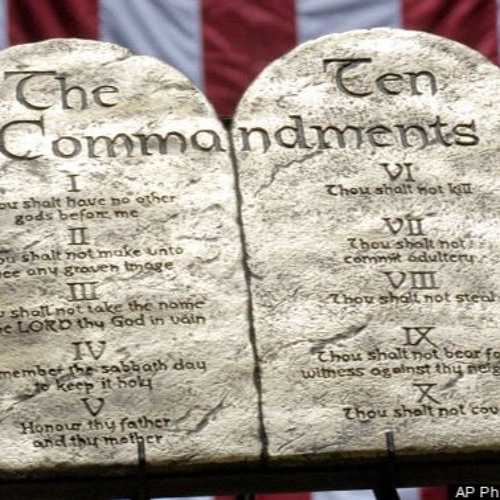 Ten Commandments - Do Not Steal
