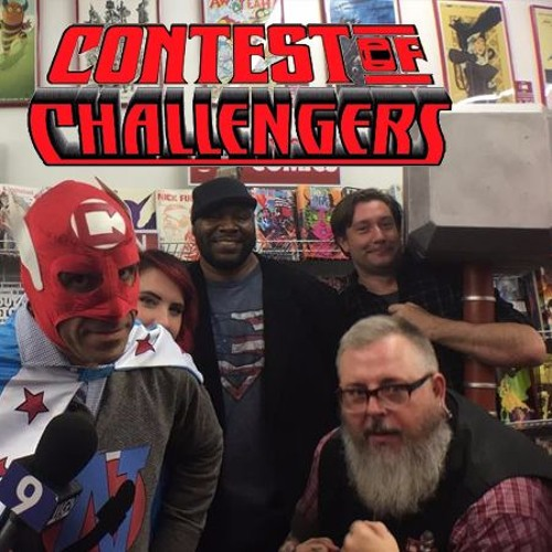 "The ""CB"" in his name stands for ""Comic Books,"" of course. (Contest of Challengers)"