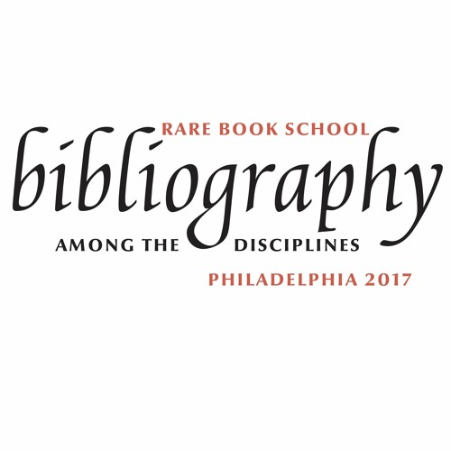 Bibliography Among the Disciplines: Plenary Session 1