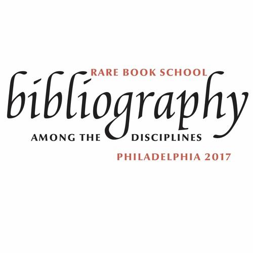 Bibliography Among the Disciplines: Short Presentations 1