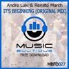 #MBFD027 - Andre Luki & Renato March - It's Beginning (Original Mix)**FREE DOWNLOAD**