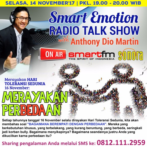 "Smart Emotion 14 November 2017: ""Merayakan Perbedaan"""