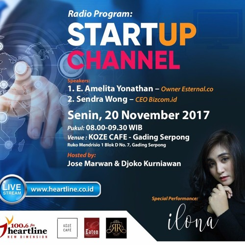 StartUp Channel | Edisi 20 November 2017