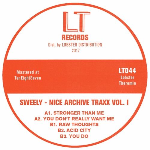 LT044 // Sweely -  Nice Archive Traxx Vol. I