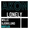 Akon - Lonely ( Wille Bjorklund Bootleg)*BUY for free download*