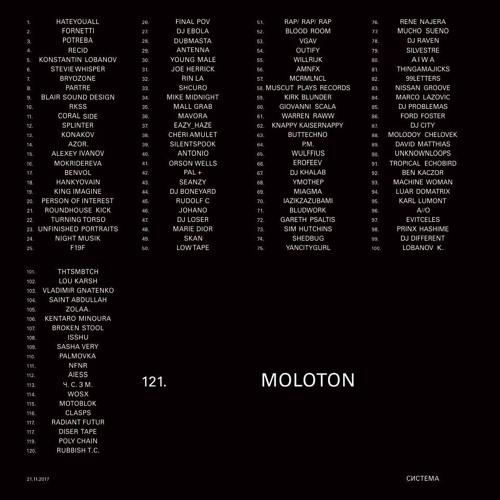 система # 121 | MOLOTON