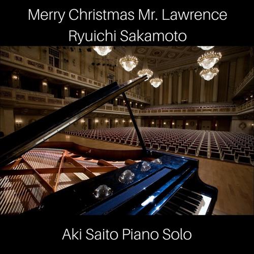 Aki Saito Piano Solo - Merry Christmas Mr. Lawrence