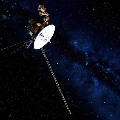 Music created using data measurements sent from the Voyager 1 spacecraft