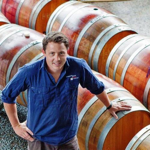 Hanging Rock Winemaker Robert Ellis With Veronica Matheson