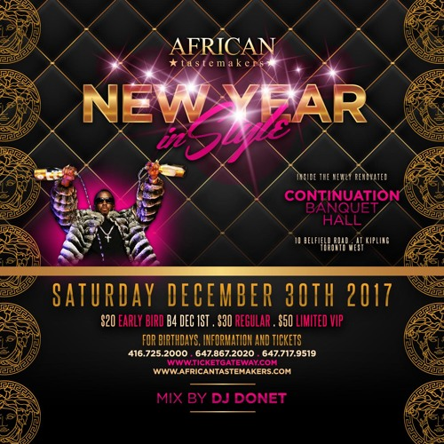 new year in style 2018 inside continuation banquet hall december 30