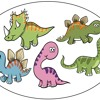 Five little dinosaurs 5