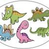 Five little dinosaurs 0