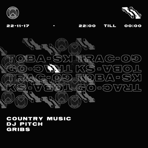 Tobago Tracks w/ DJ Pitch, Gribs & Country Music (22nd November 2017)