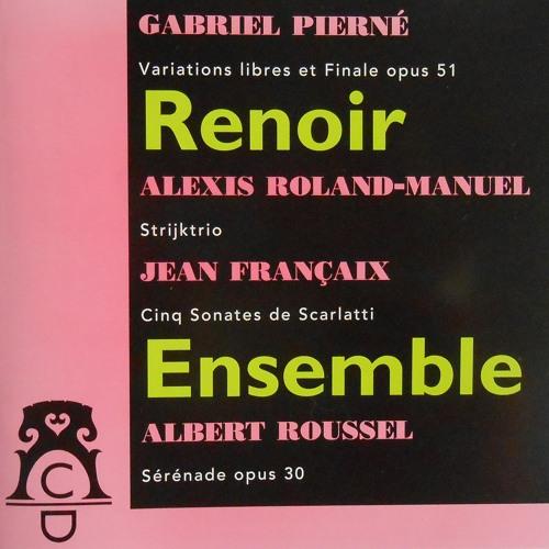 Gabriel Pierné: Variations Libres Et Finale Opus 51 (1932)