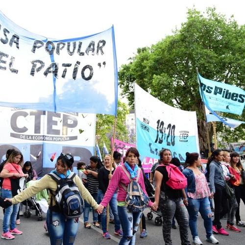 TRABAJADORAS DE LA ECONOMÍA POPULAR MARCHAMOS CONTRA LA VIOLENCIA MACHISTA