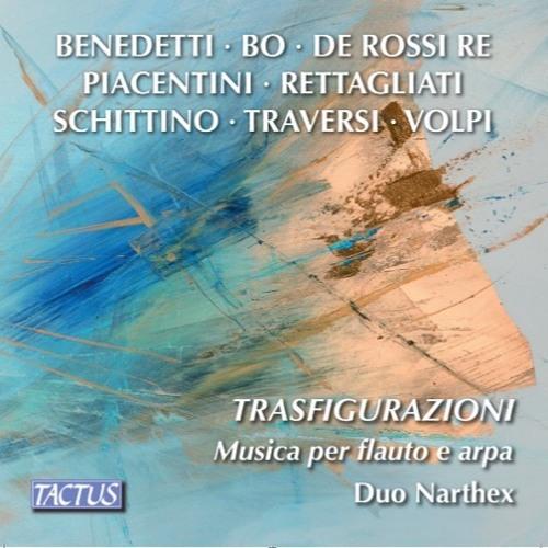 """""""...nel freddo giorno d'inverno..""""(1945 Birkenau) Flauto Andrea Biagini, Arpa Maria Chiara Fiorucci"""