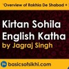 Kirtan Sohila English Katha - Part 1 By Jagraj Singh - 'Overview Of Rakhia De Shabad + Sir Mastak'