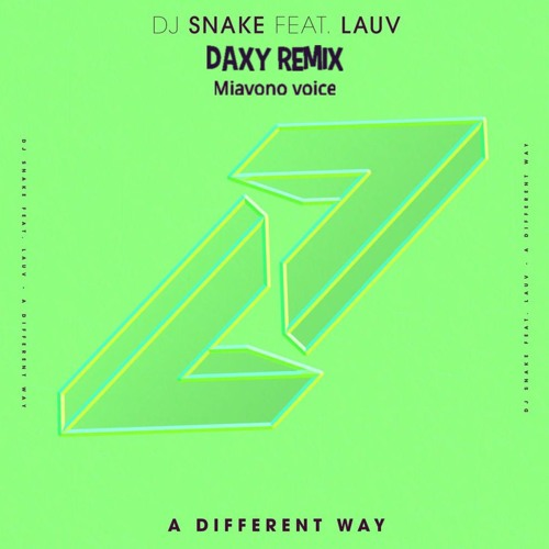 Thumbnail A Different Way Dj Snake Ft Lauv Otzzo Cover
