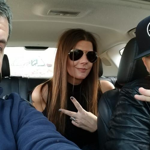Car Con Corgan - Billy Corgan (Smashing Pumpkins) and Sheri Shaw at Madame Zuzu's