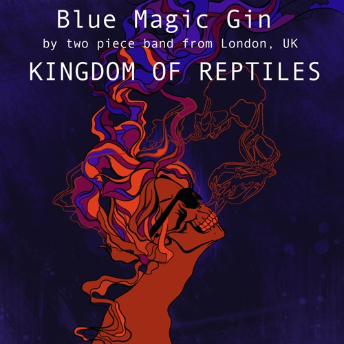 Kingdom Of Reptiles - Blue Magic Gin