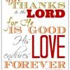 Thanksgiving And Love Luke 7