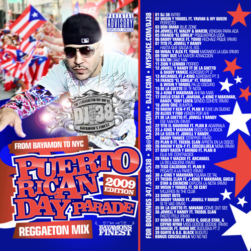 DJ 38 - Bayamon to NYC (Reggaeton Mix) 2009