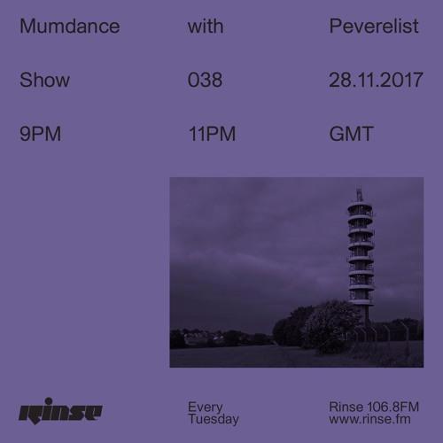 Mumdance with Peverelist - 28th November 2017