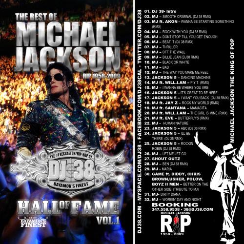 DJ 38 - Hall of Fame vol. 1 (Michael Jackson Tribute) 2009
