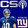 The CS Podcast #3 11/28/18 Eli Manning Retiring?