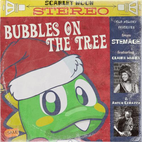 Bubbles on the Tree (Bubble Bobble Christmas Arrangement)