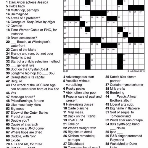 How to create a crossword