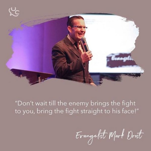 Fight Fire With Fire | Mark Drost | UCAC Nov 2017