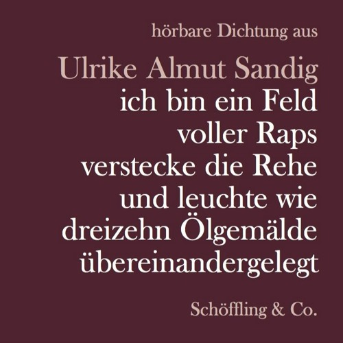 HÖRBARE DICHTUNG