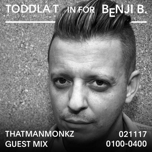 THATMANMONKZ GUEST MIX FOR BBC RADIO ONE (02/11/17)