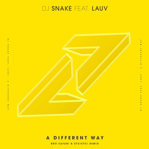 DJ Snake - A Different Way (Bro Safari & ETC!ETC! Remix) [feat. Lauv]