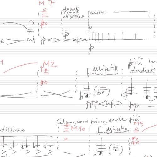Prima traccia - Michele Marelli (basset horn), Alvise Vidolin (electronics) - live, Bologna 2017