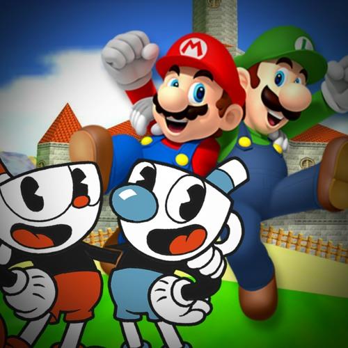 Cuphead & Mugman Vs Mario & Luigi [RAP BATTLE] by Devin The