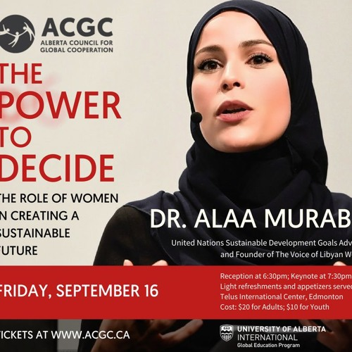 The Power to Decide: The Role of Women in Creating a Sustainable Future