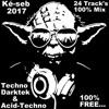 Techno VS Darktek & Acid-Techno - Novembre 2017 - 24 track's 100% Mix mp3