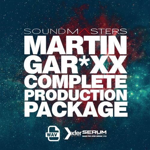 MARTIN GAR*XX Complete Production Package - *SAMPLE PACK & PATCHES*