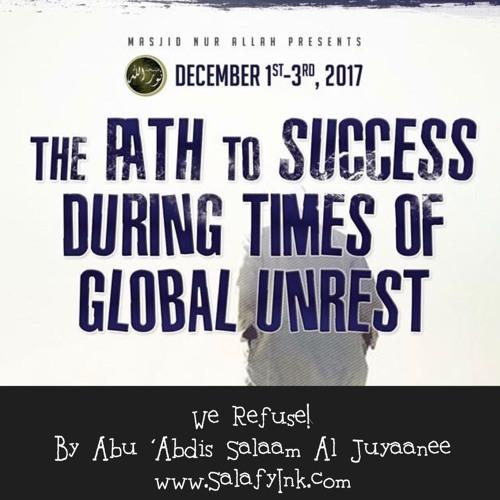 We Refuse! By Abu 'Abdis Salaam Siddiq Al Juyaanee