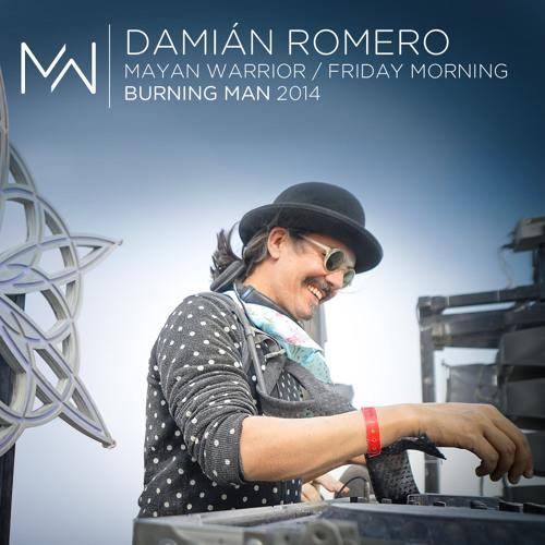 Mayan Warrior - Burning Man 2014